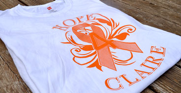 Hope 4 Claire shirts